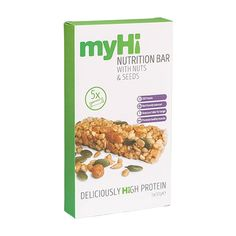 myHi Nutrition Cereal Bar Nuts & Seeds