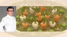 Petits pois carottes : Le potager de Christian Constant
