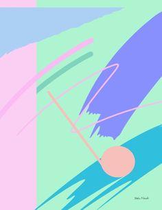 Yoko Honda - Fresh Paint #80s #revival #art