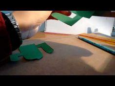 como hacer un cactus de cartón o papel. cactus cardboard - YouTube