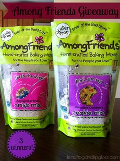 #Giveaway Among Friends Handcrafted Baking Mixes Review - Leapfrog and Lipgloss