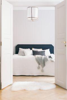 Home Interior - GAUHAR Linen Headboard, Helsinki, Bedroom, Grey, Interior, Furniture, Home Decor, Gray, Decoration Home