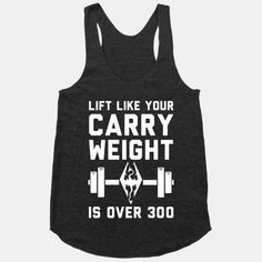 Lift Like Your Carry Weight Is Over 300 |