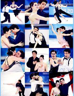 chandsifarish:  Tessa Virtue and Scott Moir - Sochi 2014, Ice Dance Silver Medalists
