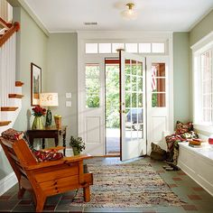 Focus On The Foyer Make Useful By Clearing Out Clutter That Aculates Around