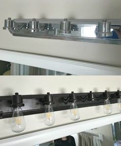 How To Change Brass And Chrome Light Fixtures To Oil Rubbed Bronze Plus Tips For Perfect Spray