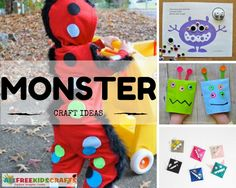 20 Monster Craft Ideas: Frighteningly Fun Crafts for Kids