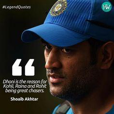 #LegendQuotes, Shoaib Akhtar explains the simple secret behind Kohli, Raina and Rohit's success! #IPL #Cricket