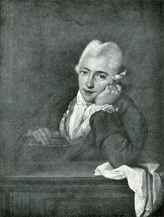 De schilder Georg Melchior Kraus (1737-1806) werd in Weimar aangesteld als leider van de tekenschool