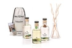 Sea Glass home disffuser, created with Mediterranean sea glass and special sea scents