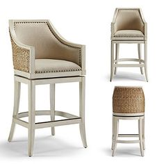 Sheldon Swivel Bar and Counter Stools - Frontgate