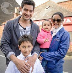 Mahesh babu family pic