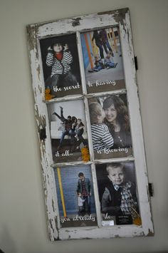 window turned picture frame