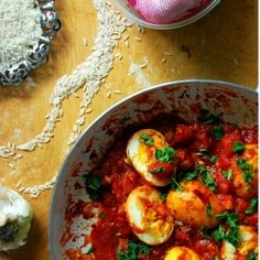 Golden Egg Curry by Naomi Duguid, only 30 mins and vegetarian!