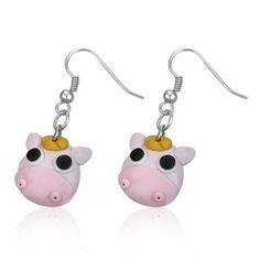 Boucles d oreilles style manga tete de vache - Achat / Vente Boucle d'oreille Boucles d oreilles style ma… - Cdiscount