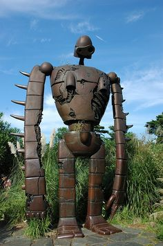 Robot from the Studio Ghibli film Laputa - Castle in the Sky