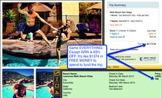 Welk Resort San Diego - $799 for the WHOLE WEEK!   Travel the world to places like this up to 90% off Expedia's best price!! Beautiful 4-5 star resorts with over 50,000+ destinations worldwide and in over 55 countries!  Check out my site for more info!