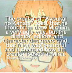 Anime facts kyoukai no kanata