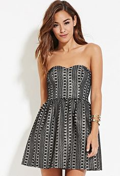 Sheeny Embroidered A-Line Dress | Forever 21 - 2000182345