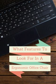 Buying A Ergonomic Computer Chair For Your Home? Find Out What Features You  Should Look