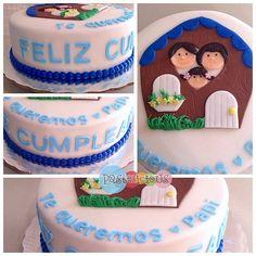 #pastelicious #birthdaycake #fondantcake