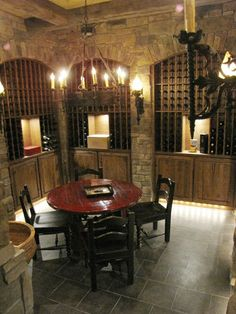 Custom Made Wine Cellar by Puddle Town Woodworking