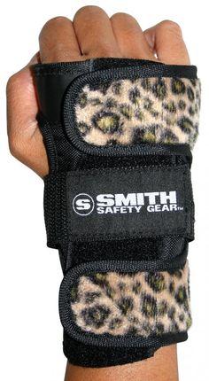 "SMITH /""Scabs/"" Elite Knee Pads Skateboard Roller Derby S//M L//XL BROWN Leopard"