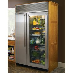Frigidaire 226 cu ft counter depth side by side refrigerator northland 60 refrigerator refrigerator freezerglass door planetlyrics Image collections