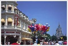 Disney's Main Street on Ektachrome 1981