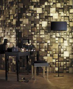 #Studioart - carreau de cuir Watersuede cipria oro piano bombato - STUDIOART www.studioart.it