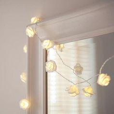 Spa Decor - Rose LED String Lights