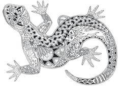 Die 23 Besten Bilder Von Zentangle Tiere Für Workshop
