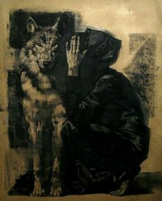 madness-and-gods:  The Wolf Whisperer (by Alexander Novoselov)