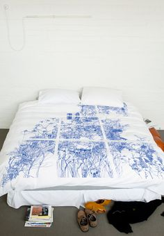 duvet cover by andrew nicholls