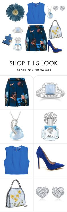 """""""Blue Beauty"""" by coolmommy44 ❤ liked on Polyvore featuring Proenza Schouler, BillyTheTree, Ice, Vince Camuto, Alice + Olivia, STELLA McCARTNEY, autismawareness and LIGHTITUPBLUE"""