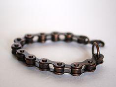 DIY Bike Chain to Bracelet