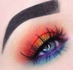 Gaga Professional 252 Colors Ultimate Eyeshadow Eye Shadow Palette Cosmetic Makeup Kit Set Make up Professional Box - Cute Makeup Guide Makeup Eye Looks, Beautiful Eye Makeup, Cute Makeup, Beauty Makeup, Casual Makeup, Prom Makeup, Beauty Uk, Awesome Makeup, Sally Beauty
