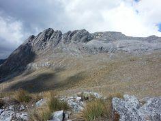 Nevado del Cocuy, Cordillera Oriental de los Andes, Colombia