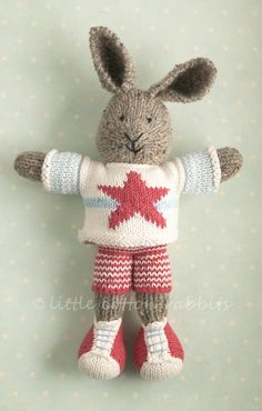 Rusty by LCRknitted on Etsy