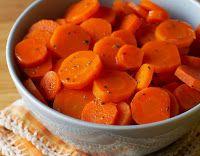 Cantinho Vegetariano: Cenouras Glaceadas com Laranja (vegana)