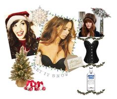 """""""Christmas gifts for Apple"""" by seliahna ❤ liked on Polyvore featuring art"""