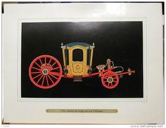 Pochette Publicité Vintage 10 images papier luxe Carrosses Princiers Carruatges Principescos Pricely carriages Pharmacie