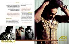 ADI SHANKAR The Tarantino of Bollywood Designed, written and interviewed by Jenna Belt for MOST Magazine December 2014 issue.  http://issuu.com/fashionmostmagazine/docs/dec_jan2015_issuu/116