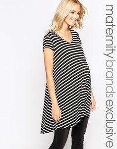 Bluebelle Maternity Stripe Swing Tunic
