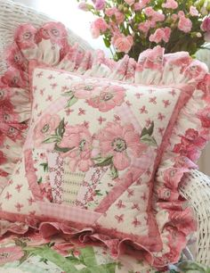Pink is pretty pillow