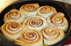 Easy caramel rolls!