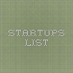 Startups List