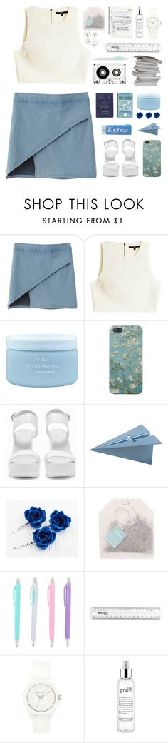 """""""Sometimes it feels like I've been trapped for years (tag)"""" by pickiestpeach ❤ liked on Polyvore featuring Chicnova Fashion, Passport, TIBI, Aveda, Nly Shoes, CB2, Vince Camuto and philosophy"""