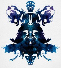 Vader Ink blot...AWESOME