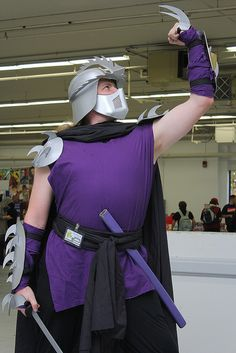 The Shredder, Teenage Mutant Ninja Turtles, photo by FirstPersonShooter.